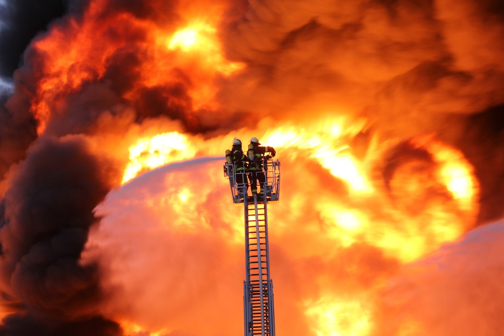 Fire & Explosion ist ein Forschungs-Schwerpunkt am CSE in Pfinztal.