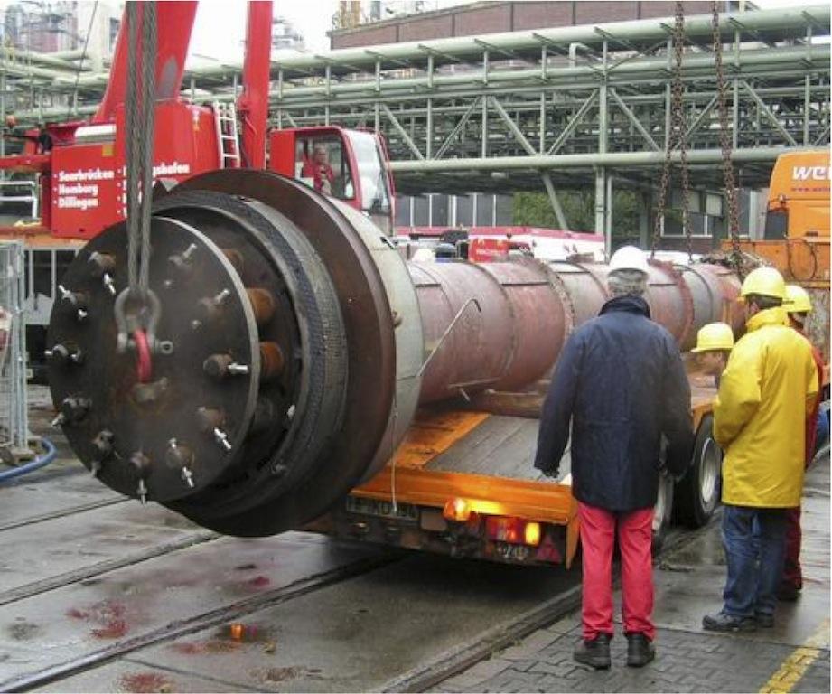 Hochdruckbehälter Transport